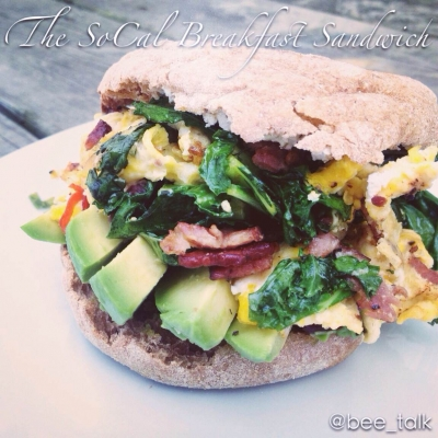 The Socal Breakfast Sandwich