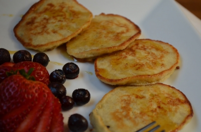 Three Ingredient Banana Pancakes Gluten Free