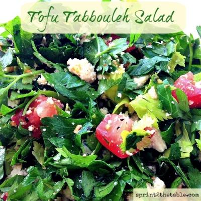 Tofu Tabbouleh Salad