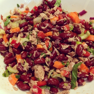 Tuna & Kidney Bean Salad
