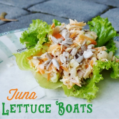 Tuna Lettuce Boats