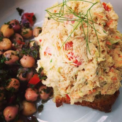Tuna Salad With Fennel