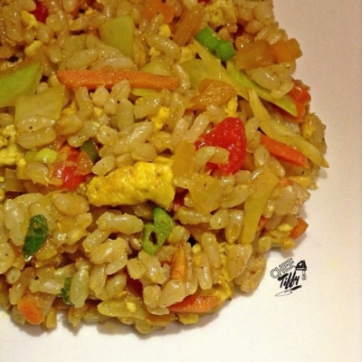 Turmeric Ginger Fried Rice