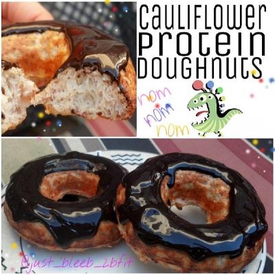 Twobfit Cauliflower Protein Doughnuts
