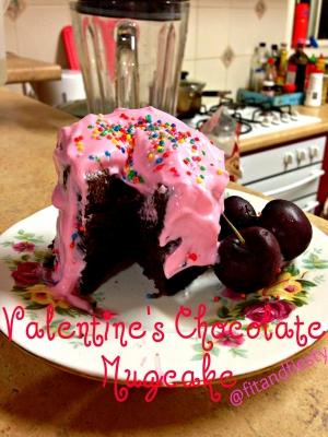 Valentine'S Day Chocolate Mugcake