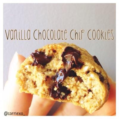 Vanilla Chocolate Chip Cookies