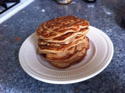 Vanilla Greek Yogurt Pancakes