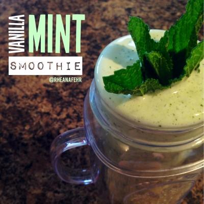 Vanilla Mint Smoothie