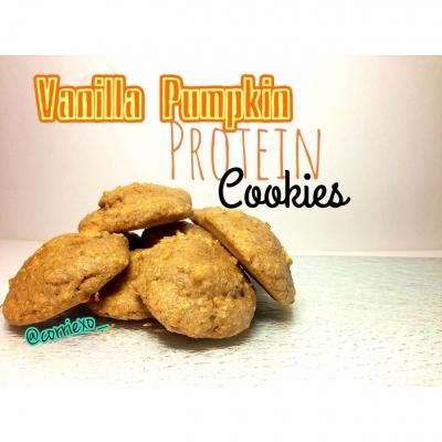 Vanilla Pumpkin Protein Cookies