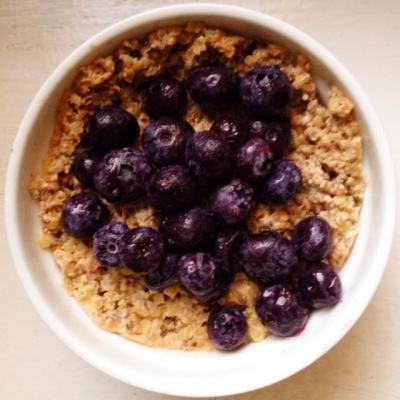Vanilla Quinoa Protein Porridge