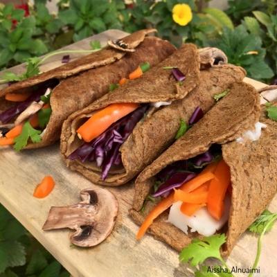 Vegan Crepes/ Taco Style