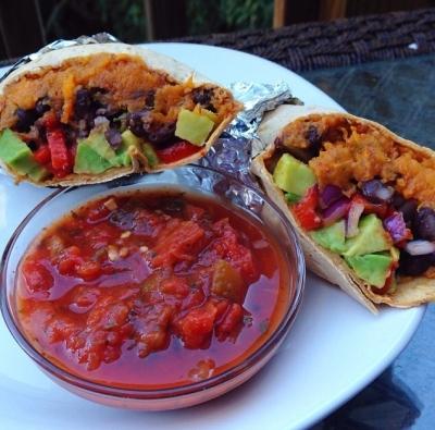 Vegetarian Southwest Wrap