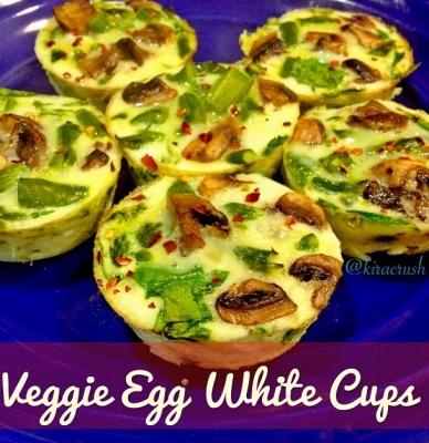 Veggie Egg White Cups