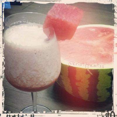 Watermelon Protein Smoothie