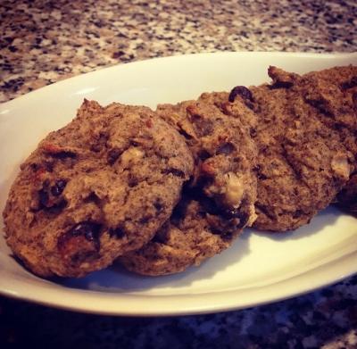 White Bean Chia Cookies