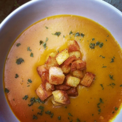 Winter Squash Curry Soup