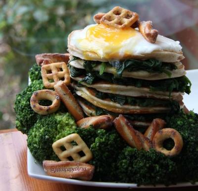 Woody Pancakes