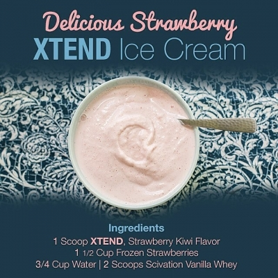 Xtend Strawberry Ice Cream