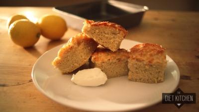 Zesty Lemon and Vanilla Cake
