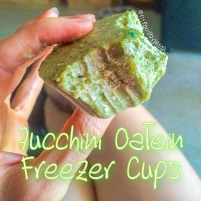 Zucchini Oatein Freezer Cups