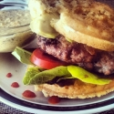 Fifty/Fifty Baa Burger