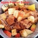 Apple Peanut Butter Soufflé