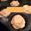 Apple Turkey Muffins