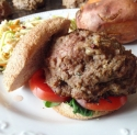 Baba Ghanoush Burgers