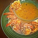 Baked Coconut Shrimp & Kicked Up Apricot Sauce