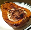 Baked Cottage Cheese & Almond Butternut Squash