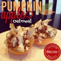 Baked Pumpkin Apple Oatmeal