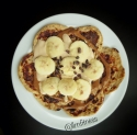 Banana Coffee Protein Pancakes
