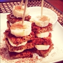 Banana French Toast Kabobs