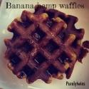 Banana Hemp Protein Waffles