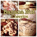 Banana Nut Cheerio Oats In a Jar