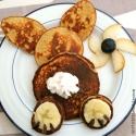 Banana-Peanut Butter Bunny Cakes