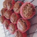 Banana Peanut Butter Chocolate Chunk Muffin