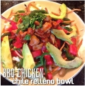 Bbq Chicken Chile Relleno Bowl