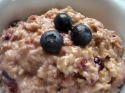 Blueberry Cheesecake Oatmeal