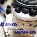 Blueberry Cheesecake Overnight Oats
