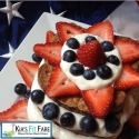 Blueberry/Strawberry & Cream French Toast Stack