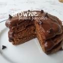 Brownie Protein Pancakes