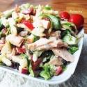 Brussel Sprouts Caesar Salad