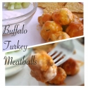 Buffalo Turkey Meatballs