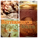 Butterscotch Choco-Nana Oats In a Jar