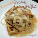Butterscotch Protein Waffles