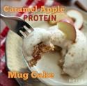 Caramel Apple Protein Mugcake