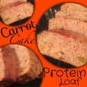 Carrot Cake Protein Loaf