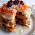 Carrot Cake Protein Pancakes With Cream Cheese Incing