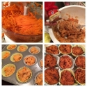 Carrot Flax Muffins